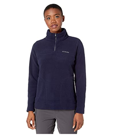Columbia Canyon Pointtm Sherpa Pullover (Dark Nocturnal) Women