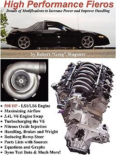 High performance fieros, 3.4l v6, turbocharging, ls1 v8, nitrous oxide