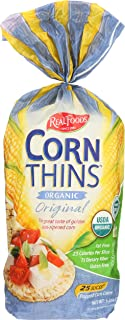 Real Foods Original Organic Corn Thins - 5.3 oz