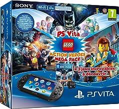 Console Playstation Vita + Lego Mega Pack + Carte Mémoire 8 Go pour PS Vita - [Edizione: Francia]