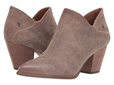 Frye Reed Shootie (Taupe Multi Cracked Vintage Suede) Women