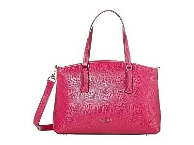 Kate Spade New York Andi Small Satchel (Berry Blitz) Handbags