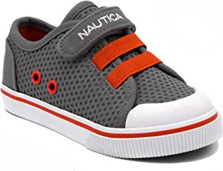 Nautica Kids Calloway Sneakers Adjustable Straps Bungee Straps Casual Shoes (Toddler/Little Kid)