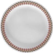 SERVEWELL MELAMINE AMBER DINNER PLATE 28CM