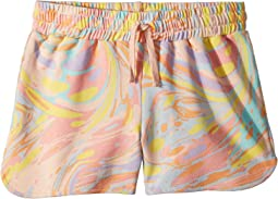 Beryl Multicolor Marble Print Knit Shorts (Toddler/Little Kids/Big Kids)