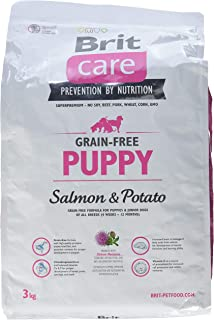 Brit Care Grain-Free Croquette Saumon/Pommes de Terre sans Céréales pour Chiot 3 kg