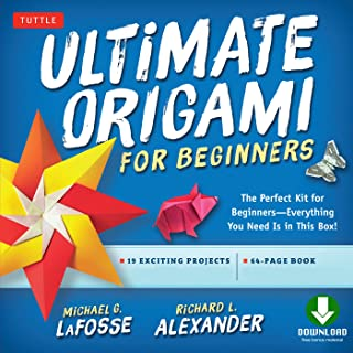 Ultimate Origami for Beginners Kit Ebook: Perfect Kit for Beginners- Includes Origami Book with Downloadable Instructional Video
