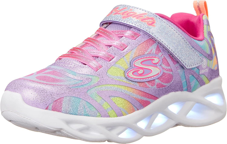Skechers Unisex-Child Girls Max 77% OFF Sport S Sneaker Footwear Ranking TOP10 Lighted