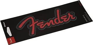 Fender Guitars Sticker - Red Glitter Logo