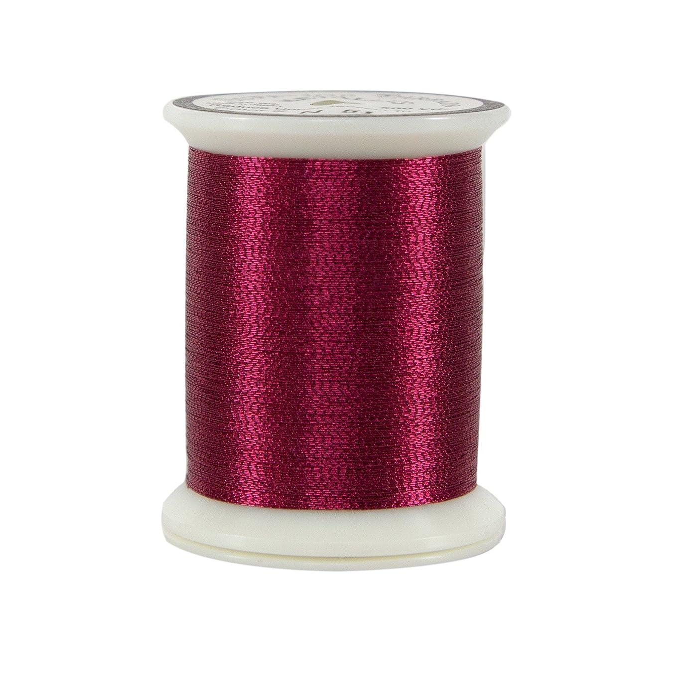Superior Threads 10101-N51 Cranberry Metallic Thread, 500 yd