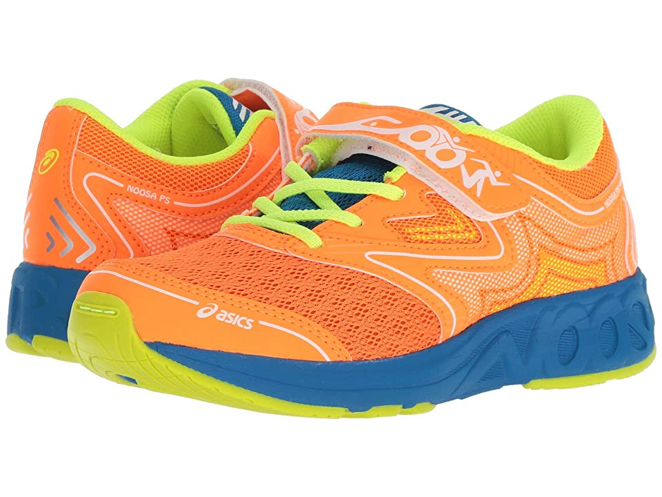 ASICS Kids Noosa PS (Toddler/Little Kid) (Shocking Orange/Flash Yellow) Boys Shoes