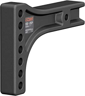 CURT 17131 Replacement Weight Distribution Hitch Shank, 2-1/2-Inch Receiver, 2-Inch Drop, 6-Inch Rise