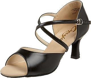 "Capezio Women`s SD01 Eva 2"" Flared-Heel Sandal"