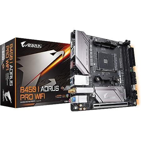 GIGABYTE B450 I AORUS PRO Wi-Fi (AMD Ryzen AM4/Mini ITX/M.2 Thermal Guard with Onboard Wi-Fi/HDMI/DP/USB 3.1 Gen 2/Motherboard)