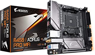 GIGABYTE B450 I AORUS PRO Wi-Fi (AMD Ryzen AM4/Mini ITX/M.2 Thermal Guard with Onboard Wi-Fi/HDMI/DP/USB 3.1 Gen 2/Motherb...