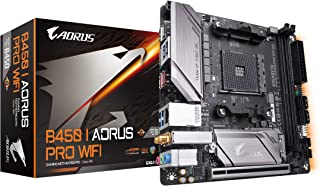 Gigabyte B450 I AORUS PRO WIFI (AMD Ryzen AM4/M.2 Thermal Guard with Onboard Wifi/HDMI/DP/USB 3.1 Gen 2/Mini ITX/Motherboard)