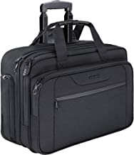 KROSER Rolling Laptop Bag Premium Wheeled Briefcase Fits Up to 17.3 Inch Laptop..