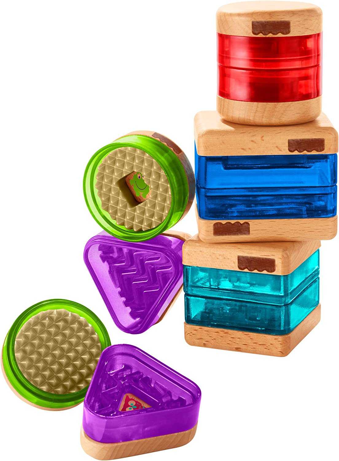 Fisher-Price Wooden Toys Surprise Inside Shapes Set