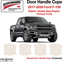 Touring YelloPro Custom Fit Door Handle Cup 3M Scotchgard Anti Scratch Clear Bra Paint Protector Film Cover Self Healing PPF Guard Kit For 2016 2017 2018 2019 2020 Honda Pilot LX EX Elite SUV EX-L