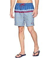 Summerall Stripe Chappy Swim Trunks