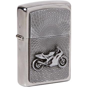 Zippo 2000225 - Mechero con Relieve de Moto: Amazon.es: Hogar