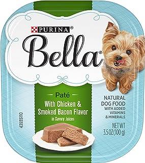 Purina Bella Single Serve بزرگسالان غذای سگ مرطوب یا مخلوط کن / مخلوط کن در آب میوه های شور