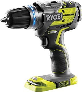 Sponsored Ad – Ryobi R18PDBL-0 ONE+ Cordless Brushless Percussion Drill (Body Only), 18 V