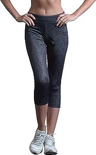 Yoga Pants for Womens Sport Crops High Waist Capri Athletic Legging Bikram (S2-21307)