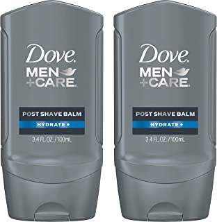 Dove Men+Care Shave Balm, Hydrating 3.4 oz, Twin Pack