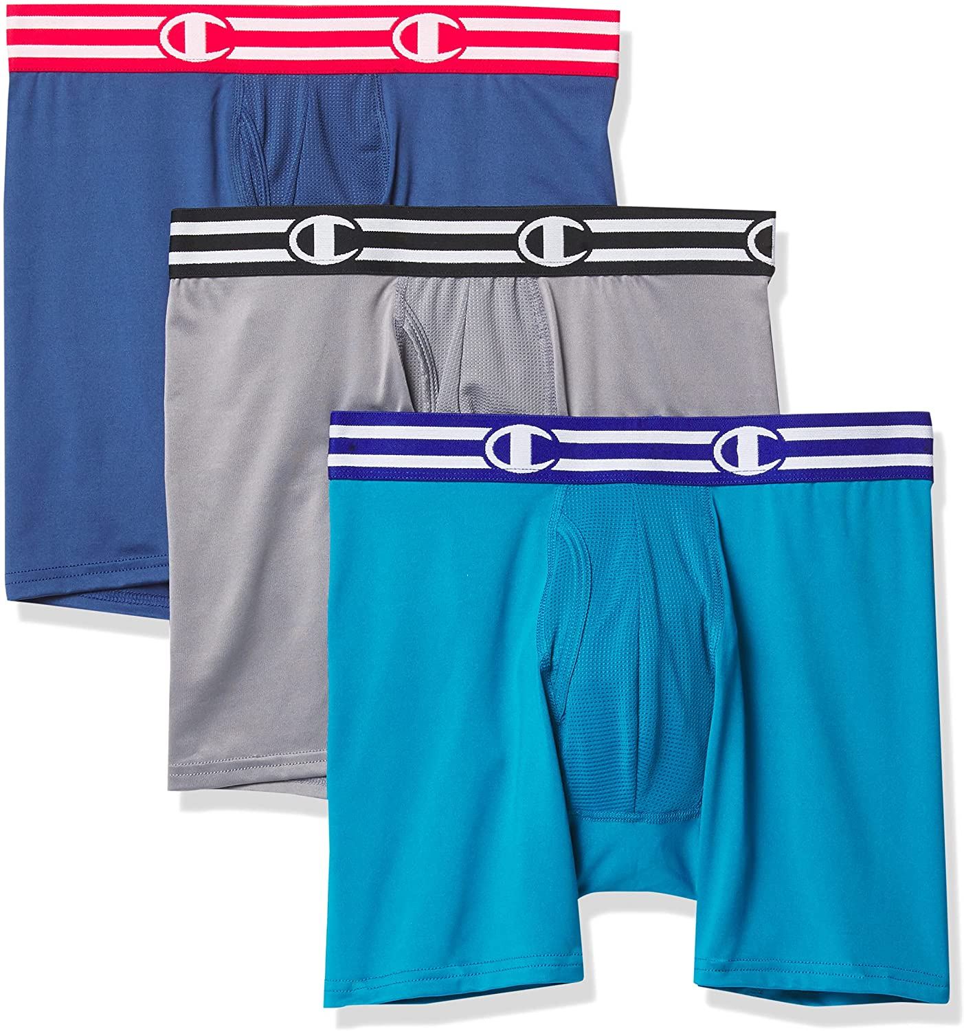 Champion Men's Performance Boxer Brief (Pack of 3)