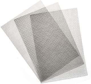12x12 50 Mesh Stainless Steel 304 Cloth Filtration Woven Wire Screen Set of 1 30x30cm