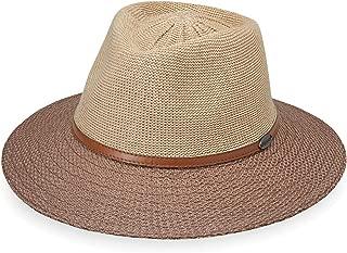 Wallaroo Hat Company Women's Monroe Fedora – UPF 50+, Modern Style, Designed in Australia