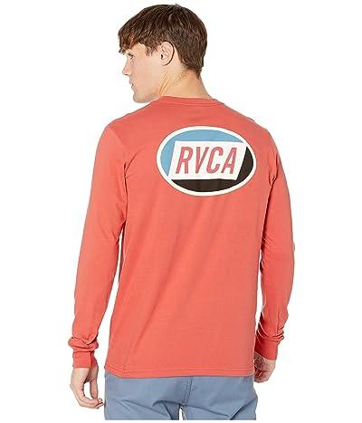 RVCA Cortex Long Sleeve T-Shirt (Baked Apple) Men