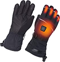 sticro Heated Gloves for Men and Women, Rechargeable Battery, Electric Hands Warmer for Motorcycle, Ski, Hunting, Outdoor ...