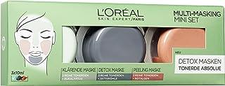 L'Oréal Paris Tonerde absolut multimaskeringsset, 1-pack (3 x 10 ml)