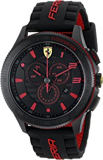 Ferrari Men's 0830138 Scuderia XX  Silicone Band Watch