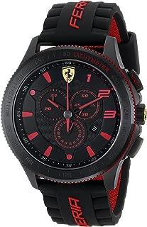 Men's 0830138 Scuderia XX Silicone Band Watch