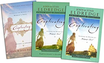 Captivating Complete Set - Captivating: Unveiling the Mystery of a Woman's Soul (Book + Study Guide + DVD)