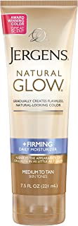 Jergens Natural Glow Plus Firming Daily Moisturizer, 221 ml