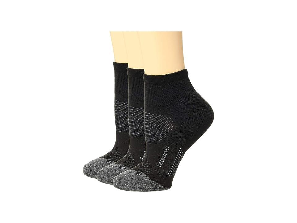 Feetures - Feetures Elite Max Cushion Quarter 3-Pair Pack