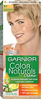 Garnier Color Naturals Shade 9.1 Twin Pack100 ml x 2