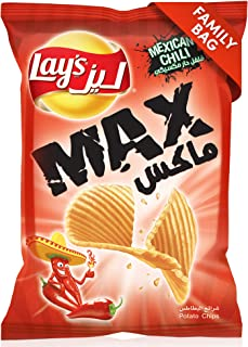 Lays Max Mexican Chili, 200 gm