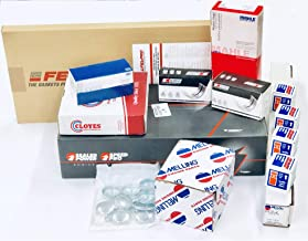 MASTER Engine Rebuild Kit compatible with 1987-92 Chevy GMC 5.0 305 Pistons Cam gaskets bearings timing oil pump