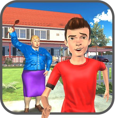 Vecino juego virtual de la Escuela Secundaria