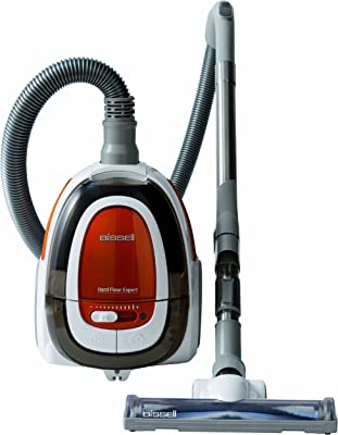 BISSELL Hard Floor Expert Bagless Canister Vacuum, 1154 - Corded, White