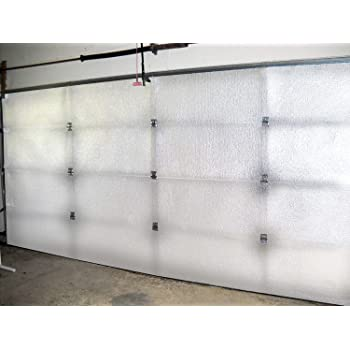 Garage Door Insulation Kit 8 Foam Panels Weatherproofing Garage Door Seals Amazon Com