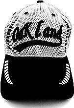 قبعة بيسبول مطرزة بشبكة كلاسيكية أوكلاند من أولد سكول أسود/ رمادي