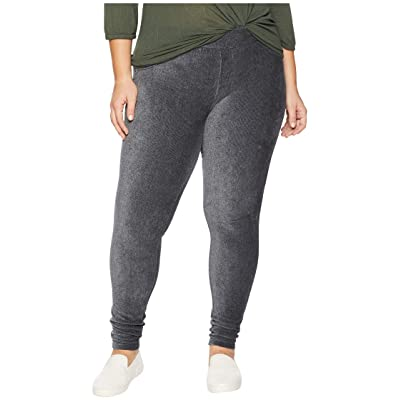 MICHAEL Michael Kors Plus Size Corduroy Pull-On Leggings (Derby) Women