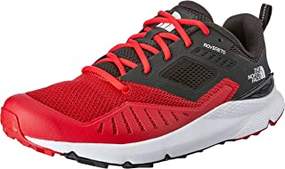 THE NORTH FACE Men's Rovereto Trail Running Shoes, TNF Red/TNF Blk, 7.5 US
