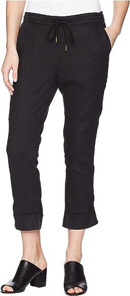 Michael Stars - Woven Linen Cuffed Trouser
